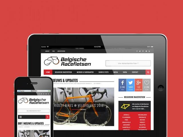 Belgische Racefietsen - Webdesign, Hosting & SEO