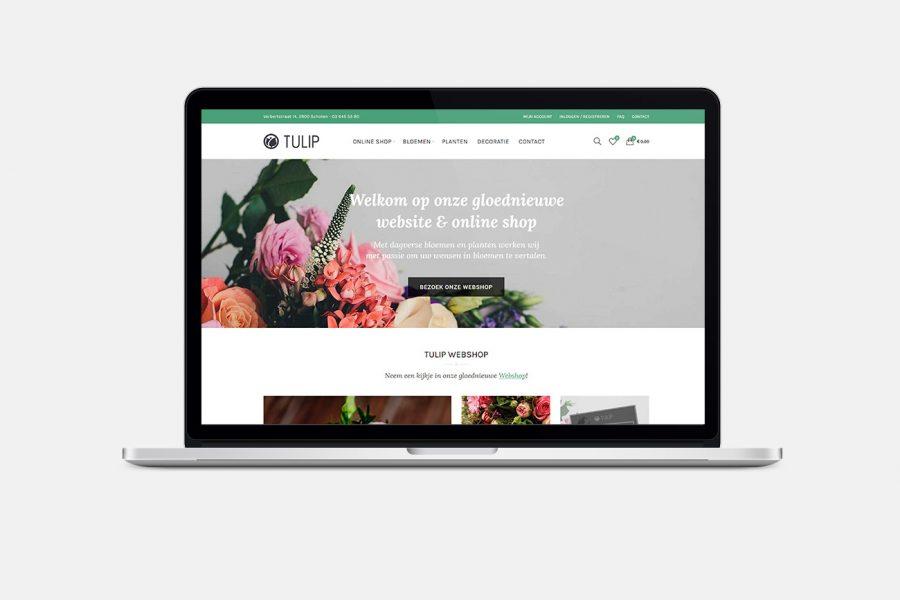 Tulip Mobielvriendelijke Webshop