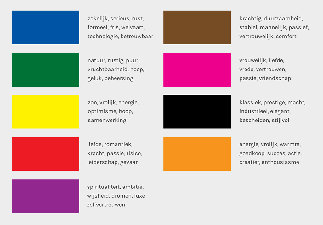 kleuren psychologie call to action