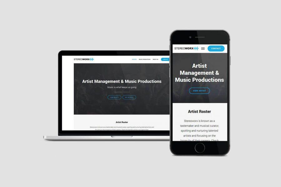 mobielvriendelijk webdesign stereoworx