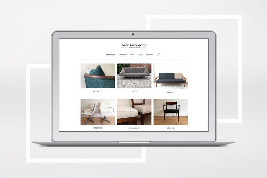 sofie webshop & website