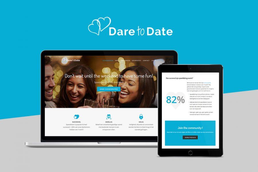 dare to date mobielvriendelijke website