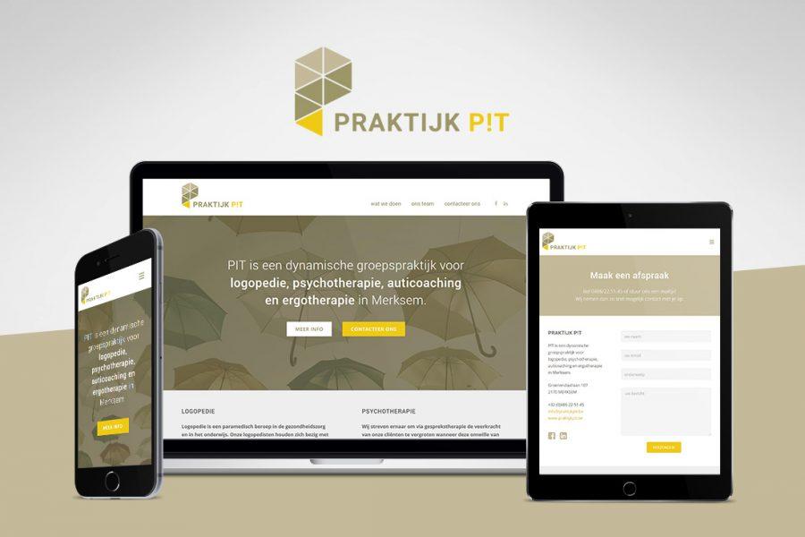praktijk pit merksem webdesign