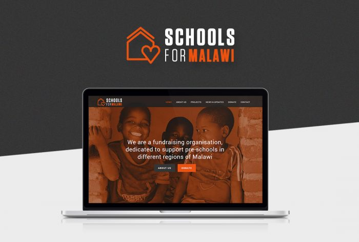schools for malawi webdesign
