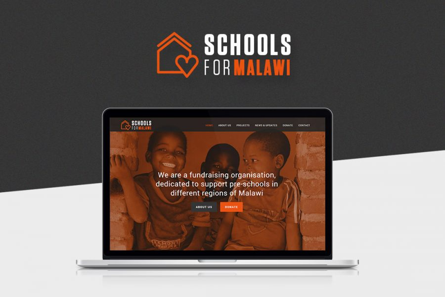 schools for malawi webdesign